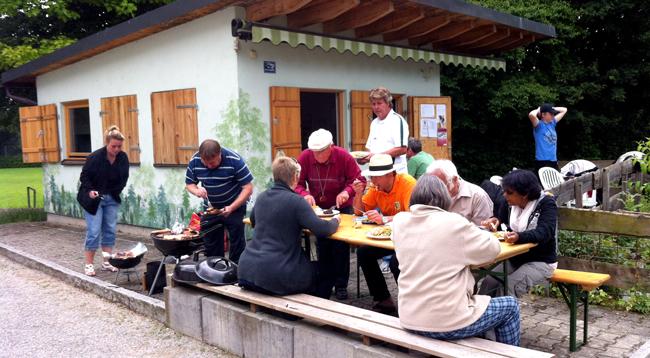 Ligaabschluss-Grillfest 2013