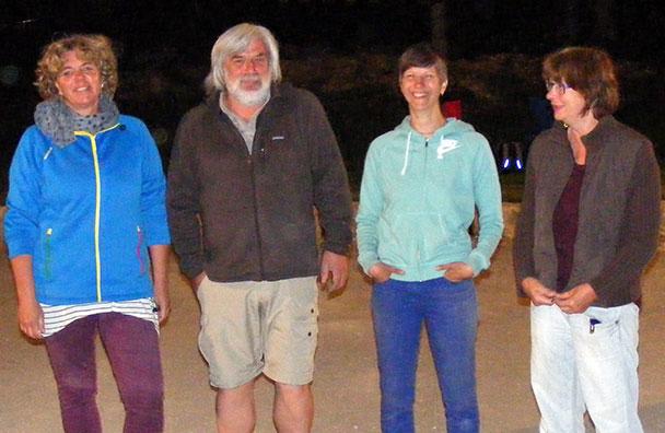 Die Finalteilnehmer des B-Turniers in Heubach.
