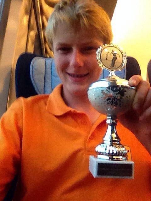3. Platz bei der Offenen Hessischen Jugend-LM im Triplette 2014: Maximilian Lang