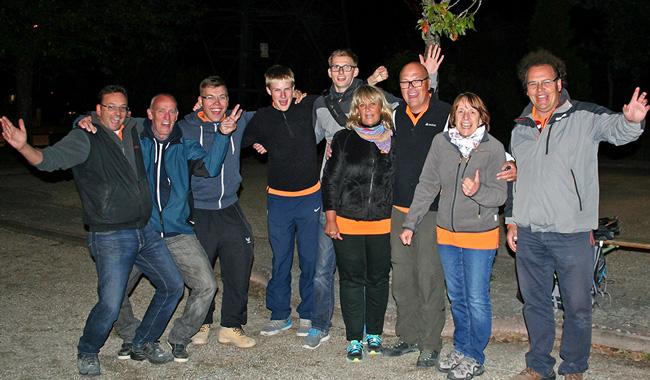 """Team """"Denkendorf-2"""" nach der 1. Saison in der Regionalliga"""